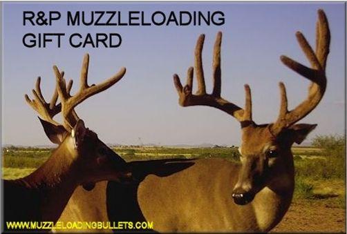 Muzzleloader Supplies
